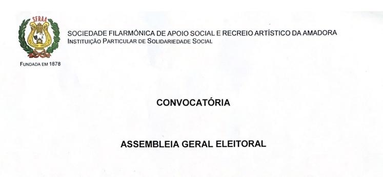 Convocatória – Assembleia Geral Eleitoral