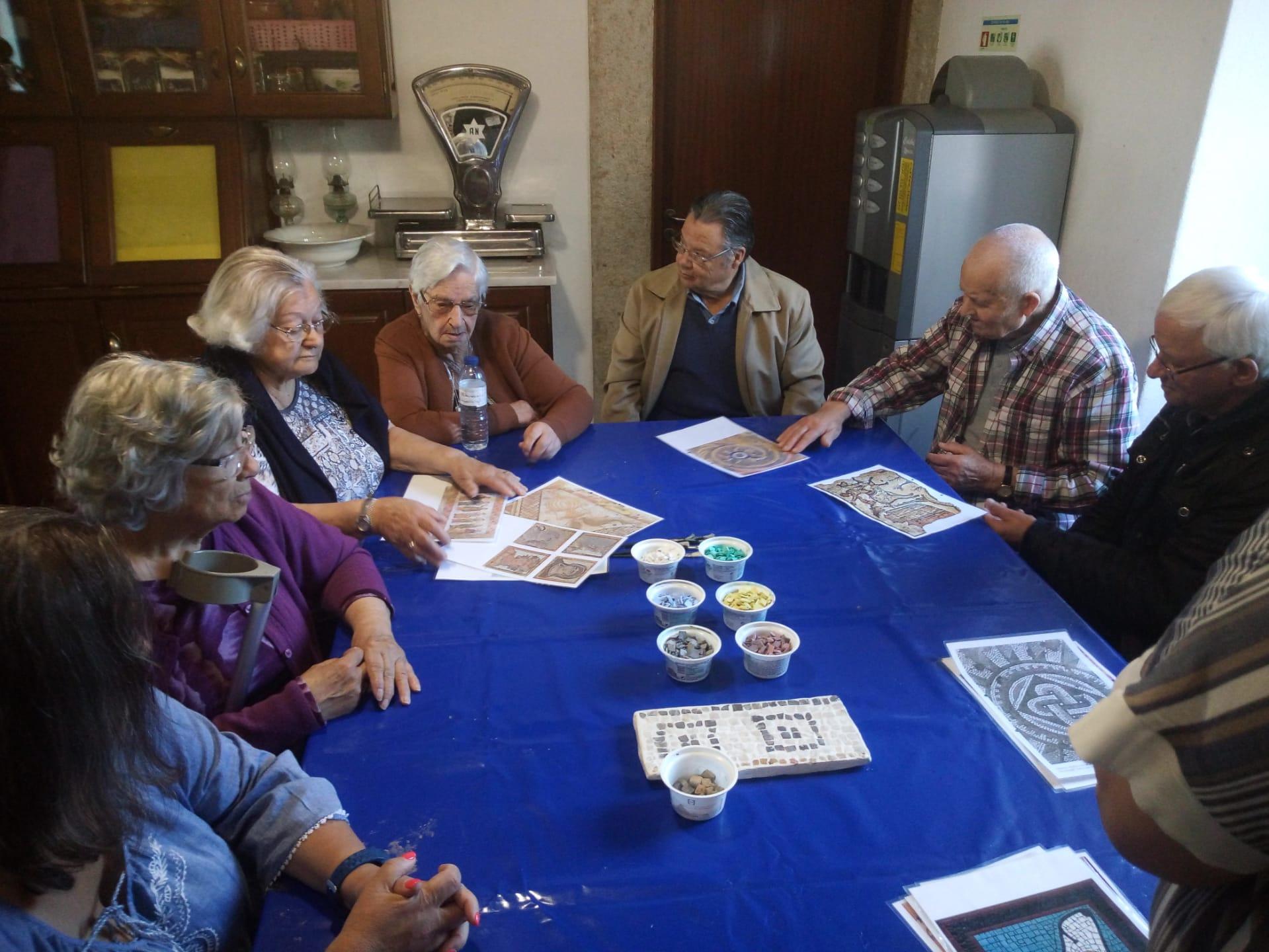 Centro de Dia no Museu de Arqueologia Amadora – Atelier de Tesselas Romanas