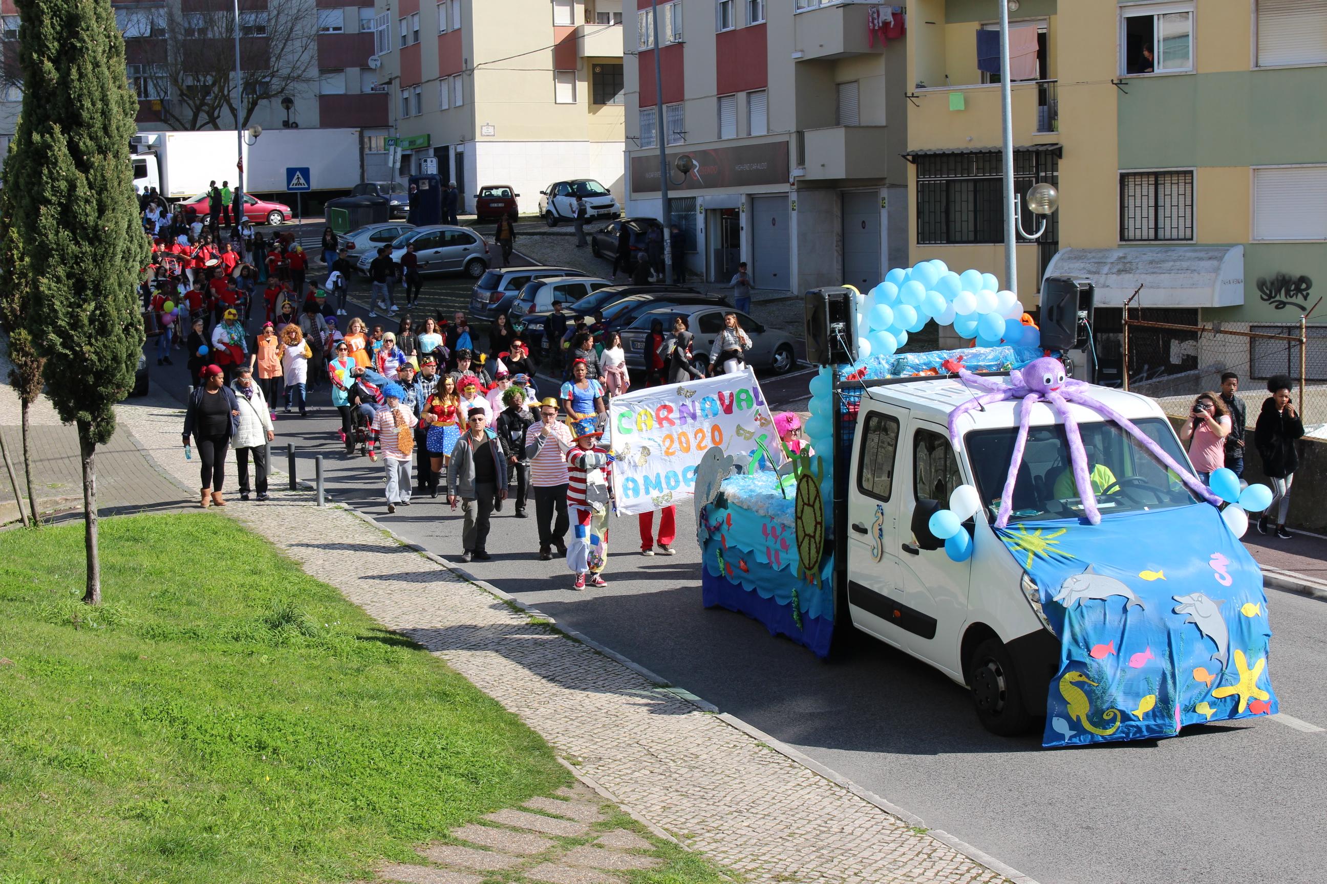 Carnaval para Miúdos e Graúdos na SFRAA