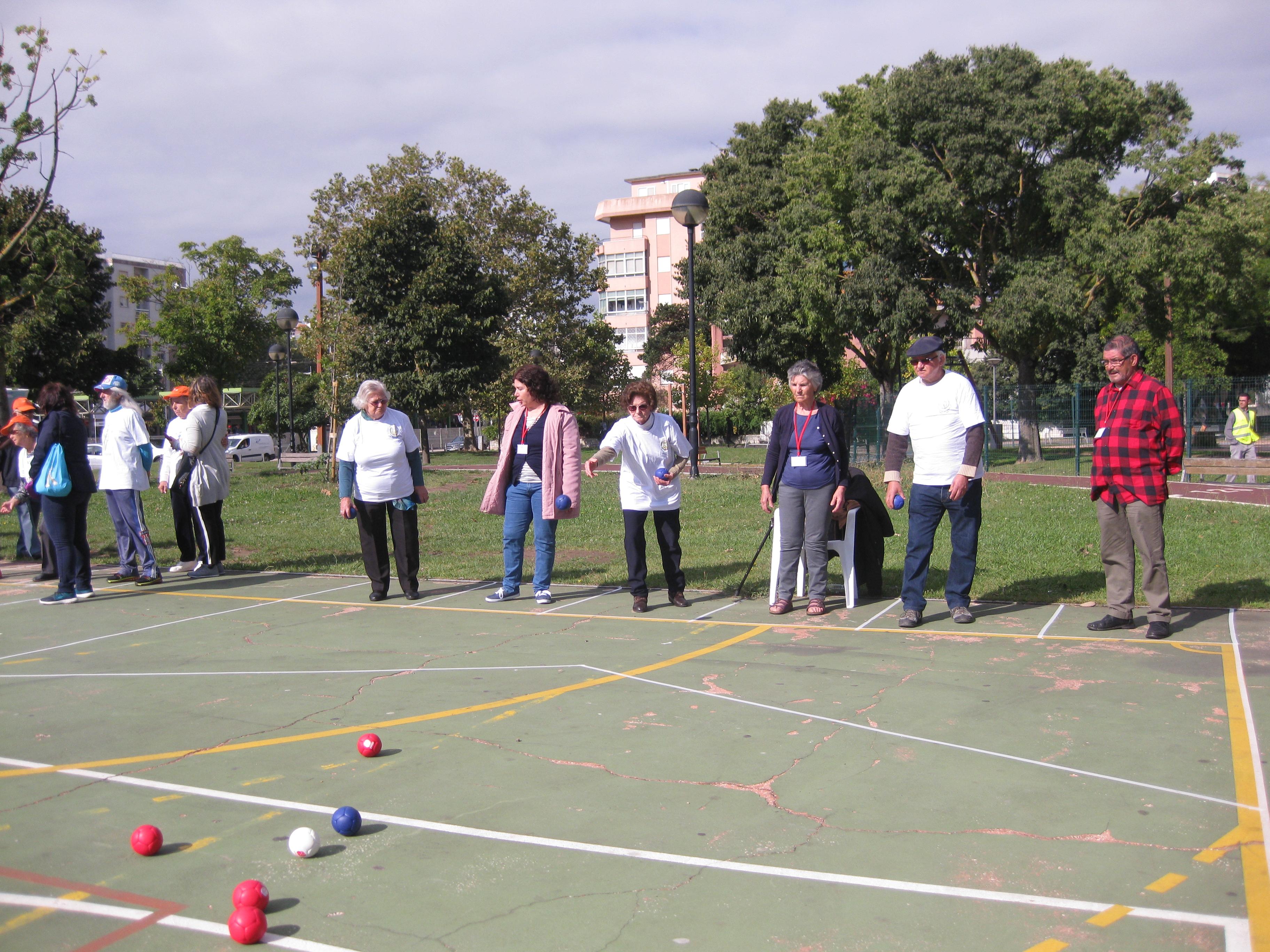 Torneio de Boccia Sénior – Centro de Dia SFRAA