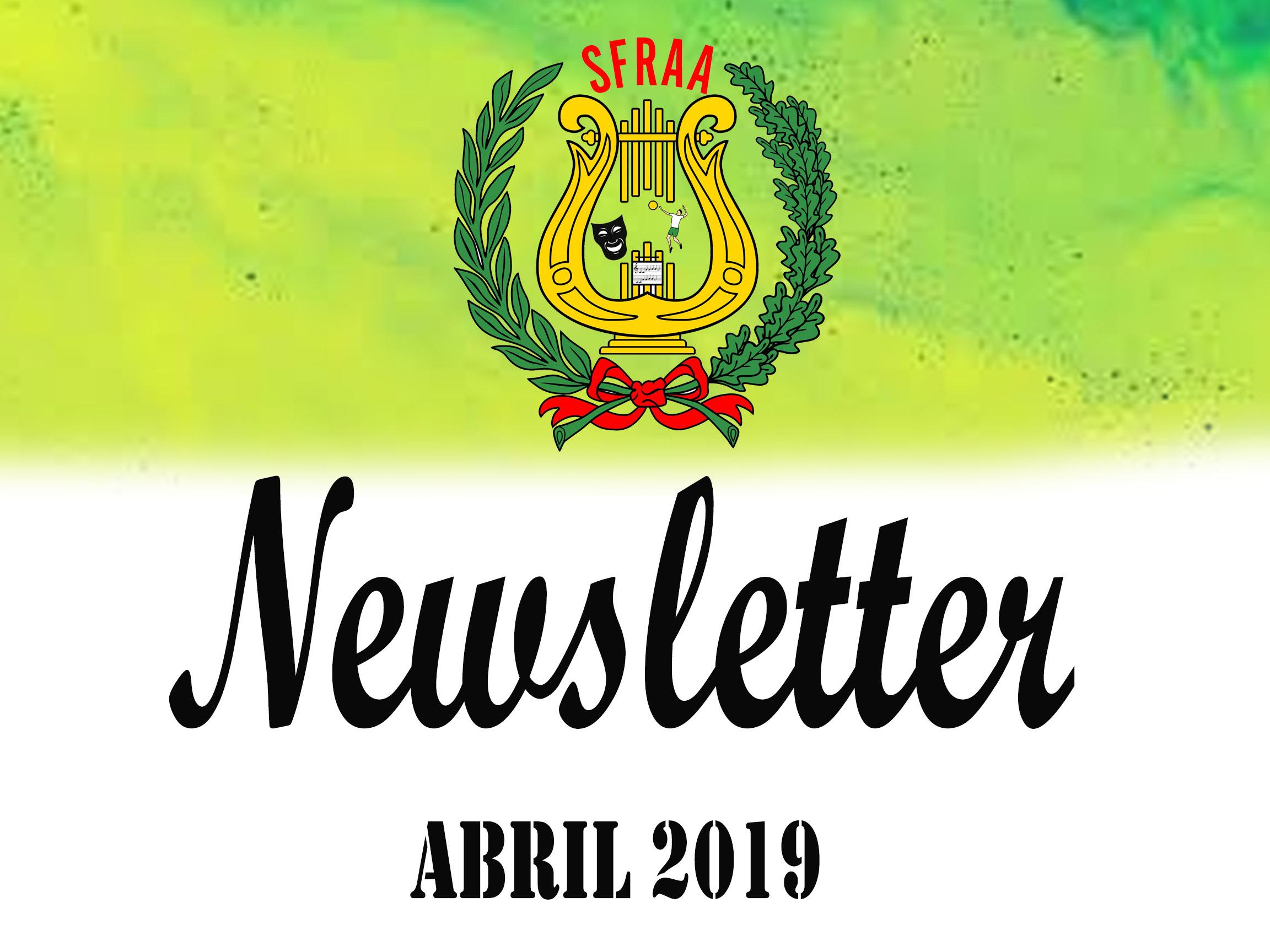 Newsletter – Abril 2019