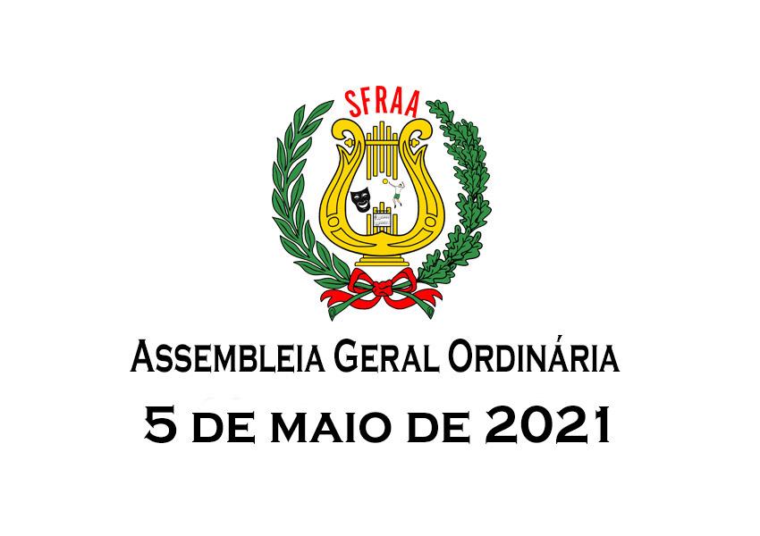 Convocatória – Assembleia Geral Ordinária – 05 de maio de 2021
