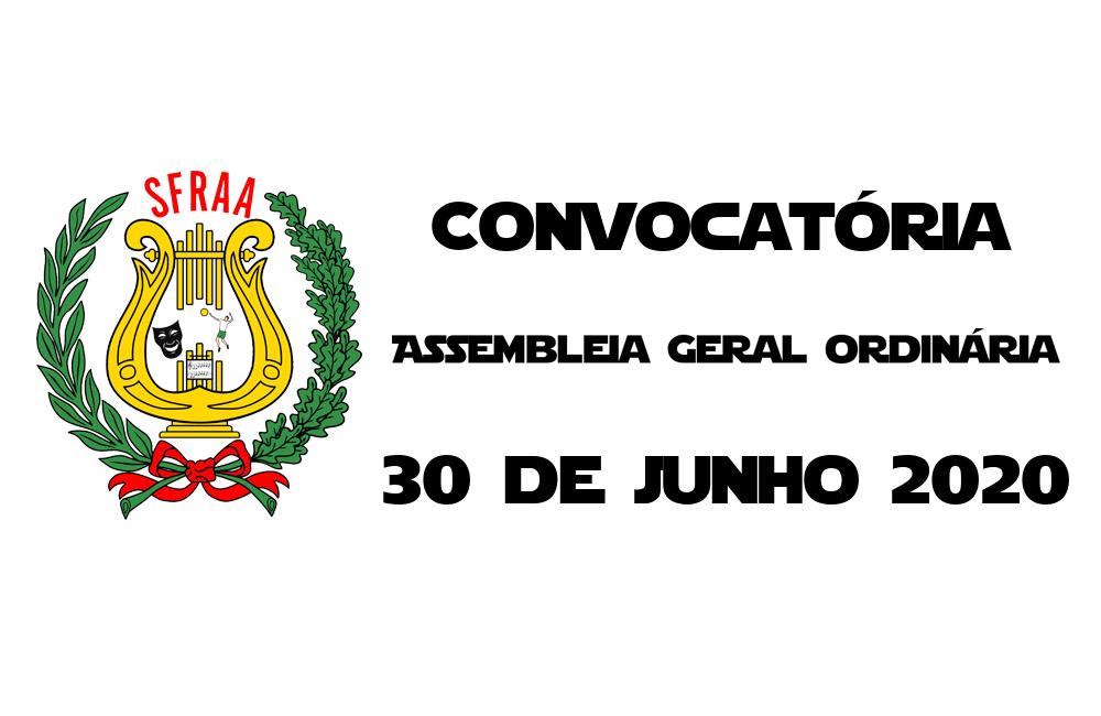 Convocatória – Assembleia Geral Ordinária – 30 junho 2020