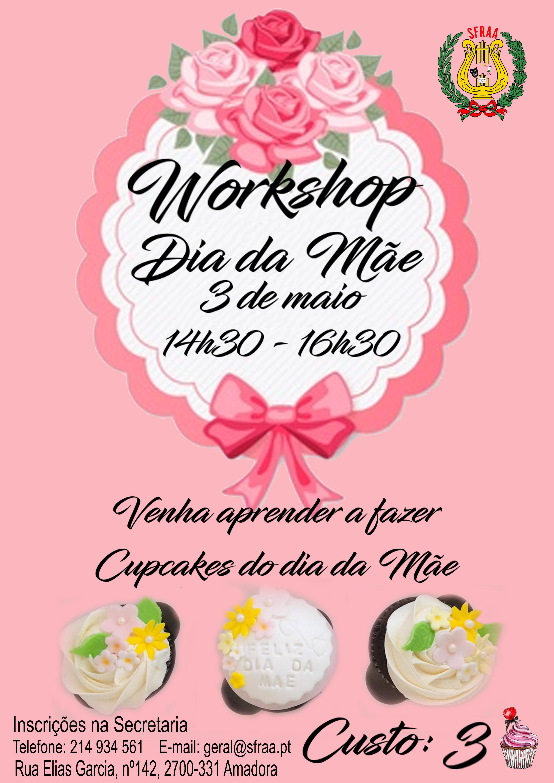 Workshop Dia da Mãe – Aprenda a fazer cupcakes