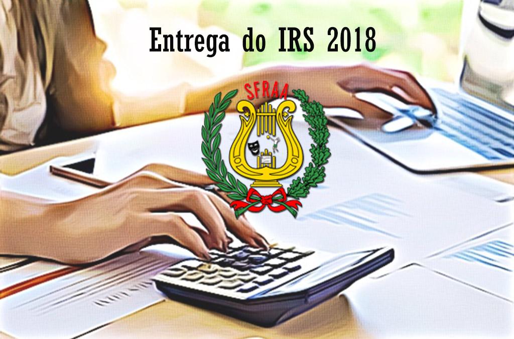 Consignação de 0,5% e Apoio ao preenchimento IRS 2018