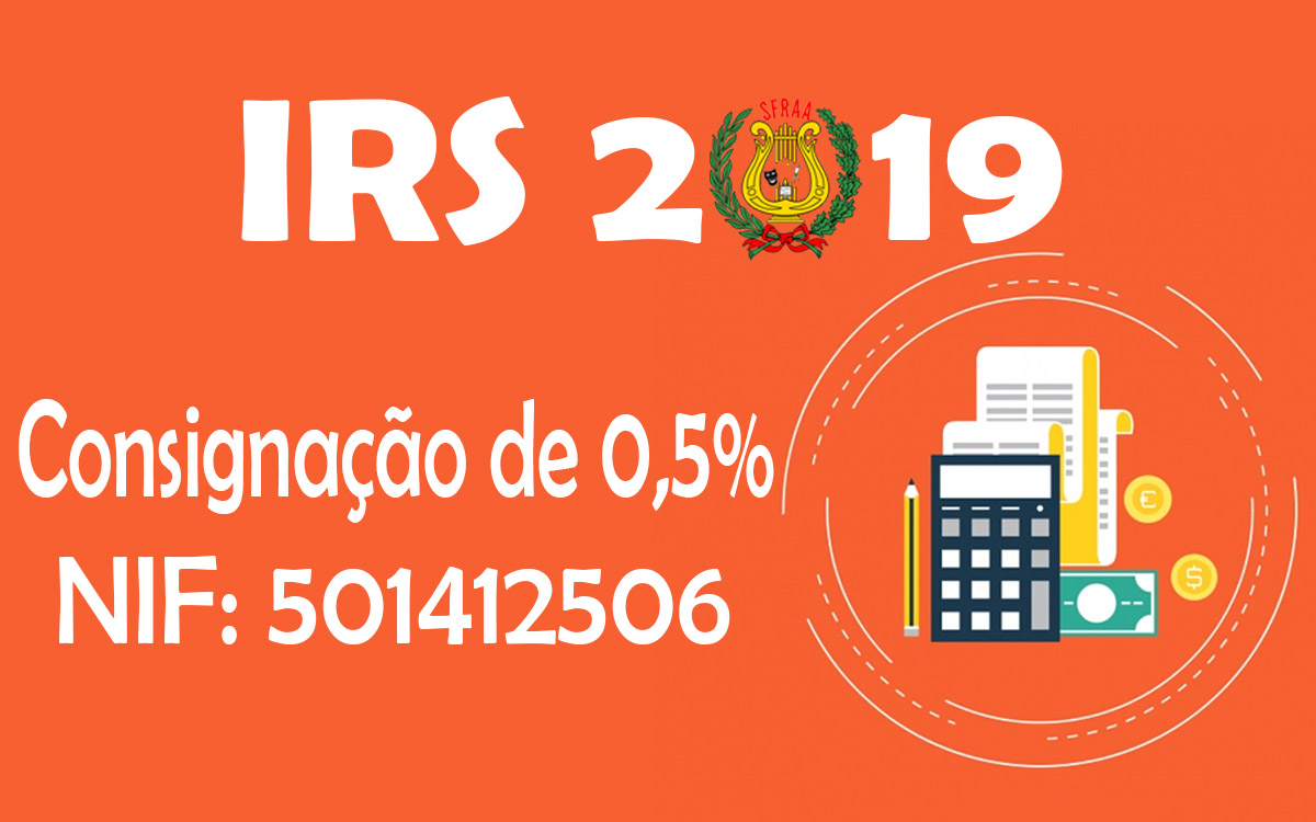 IRS 2019 – Consignação de 0,5%