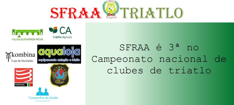 SFRAA é 3ª Classificada no Campeonato Nacional de Clubes de Trialto